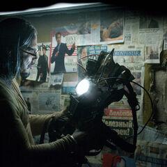 Mickey Rourke as Ivan Vanko.