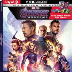 Target Exclusive 4K Blu Ray.