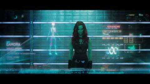 Meet the Guardians of the Galaxy Gamora