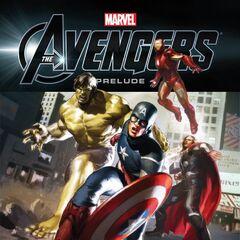 Captain America, Thor, Iron Man & The Hulk.