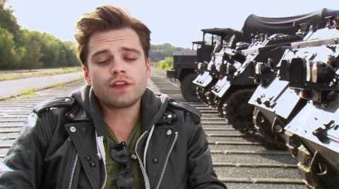 "CAPTAIN AMERICA FA Interview Sebastian Stan, ""Bucky"""