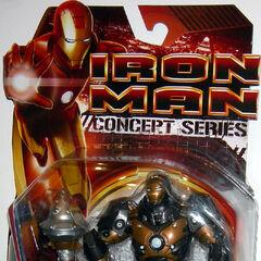 Subterranean Armor Iron Man