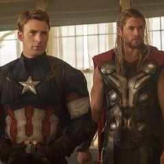 Captain America in the 20th century.