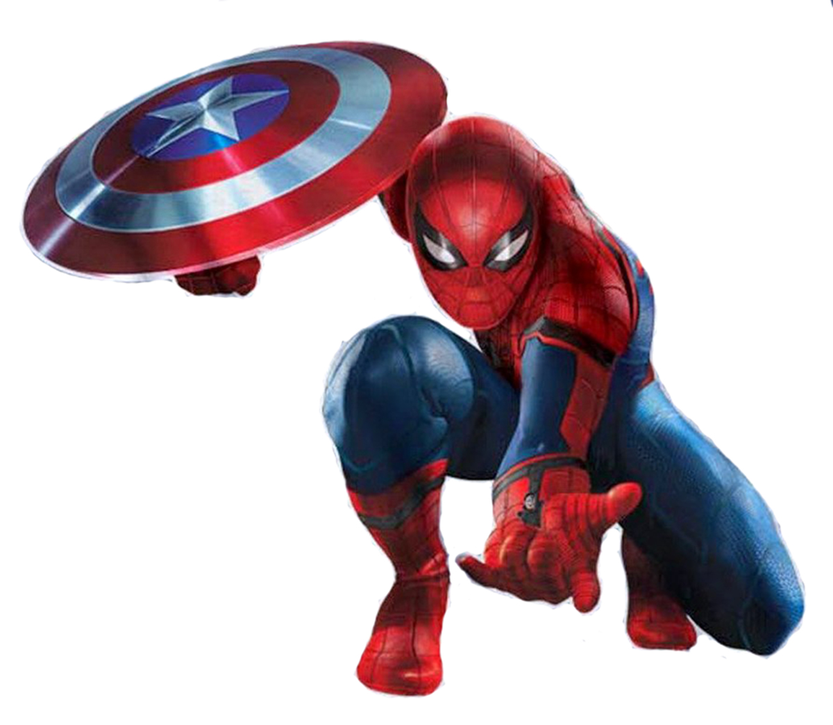 Captain America Civil War Concept Art Spiderman