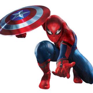 Spider-Man suit in <i>Captain America: Civil War</i>.