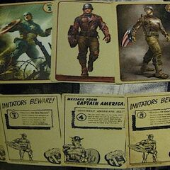 Coulson's Vintage Captain America cards set 1