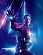Iron Man Tony Stark Avengers Infinity War character poster