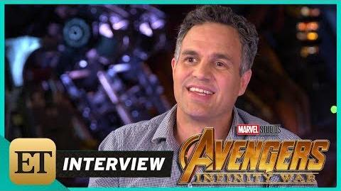 'Avengers Infinity War' Mark Ruffalo (FULL INTERVIEW)