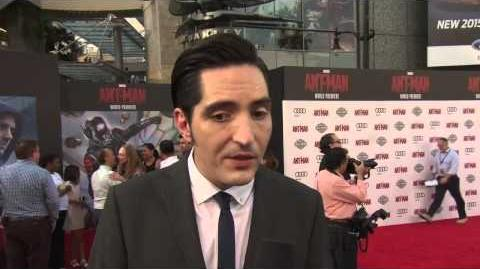 Ant Man World Premiere Interview David Dastmalchian