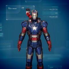 Iron Patriot designs