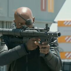 Fury with a Rocket Launcher.