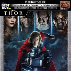 Thor Best Buy Exclusive Steelbook 4K Blu Ray.