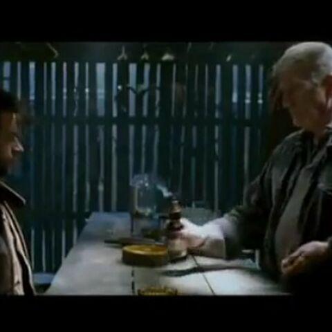 Albert serves Logan beer.