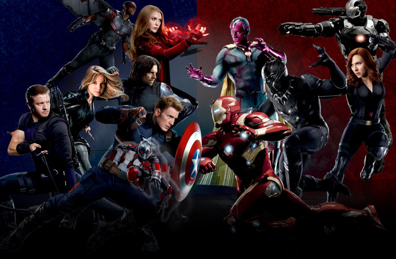 Image - Captain America Civil War - EW Promo Textless Full ...