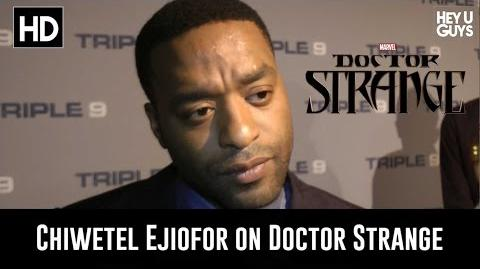 Chiwetel Ejiofor on Marvel's Doctor Strange