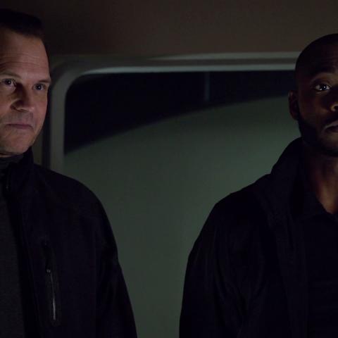 Garrett introduces Trip to Coulson