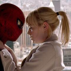 Spider-Man and Gwen.