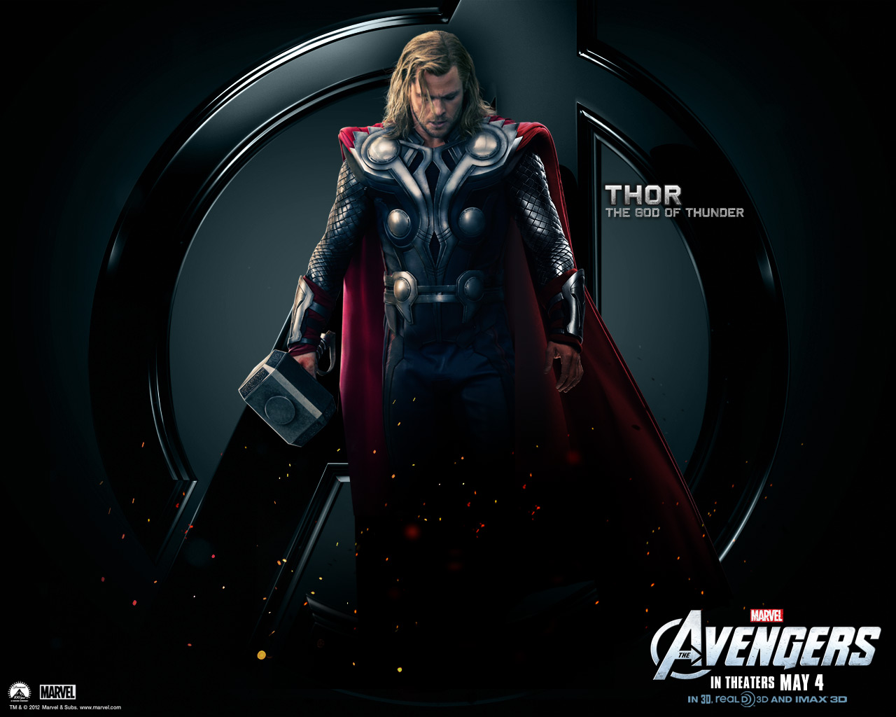 image - thor-the-avengers-wallpaper | marvel movies | fandom