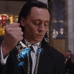 Loki in his disguise.