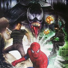 Promotional Poster featuring Venom.