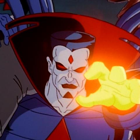 Mr. Sinister kidnaps Professor Xavier at Scott and Jean's wedding.