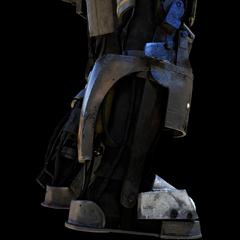 <b>Armored feet</b>