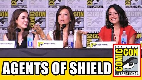 AGENTS OF SHIELD Comic Con 2016 Panel Highlights - Clark Gregg, Ming-Na Wen, Chloe Bennet, Season 4