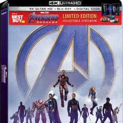 Best Buy Exclusive 4K Blu Ray.