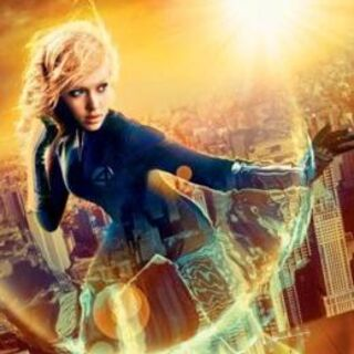 Promotional image of Invisible Woman in <i>Fantastic Four</i>.