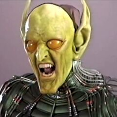 Original Green Goblin FX and makeup test.