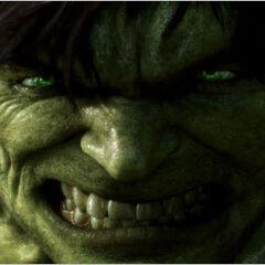 Hulk fends off attacks.