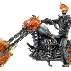 Ultimate Ghost Rider & Flame Cycle