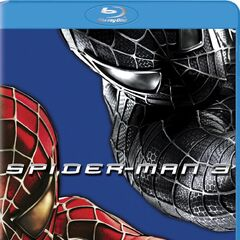 Spider-Man 3 Variant Blu-Ray cover featuring Black Symboite Spider-Man & Spider-Man