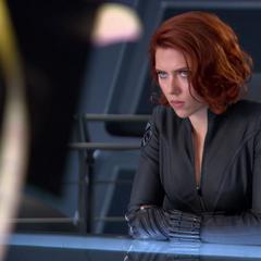 Natasha being debriefed.