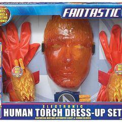Human Torch Dress-Up Set