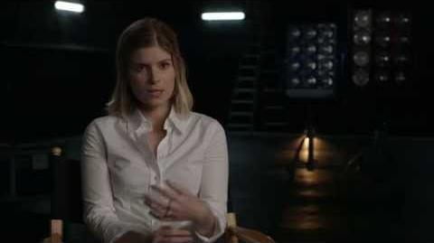 "The Fantastic Four Kate Mara ""Sue Storm"" Behind the Scenes Movie Interview -2015"
