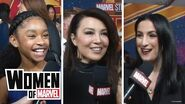 Marvel Studios' Captain Marvel Carol Danvers in One Word Women of Marvel