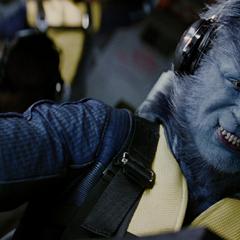 Hank piloting the <a href=