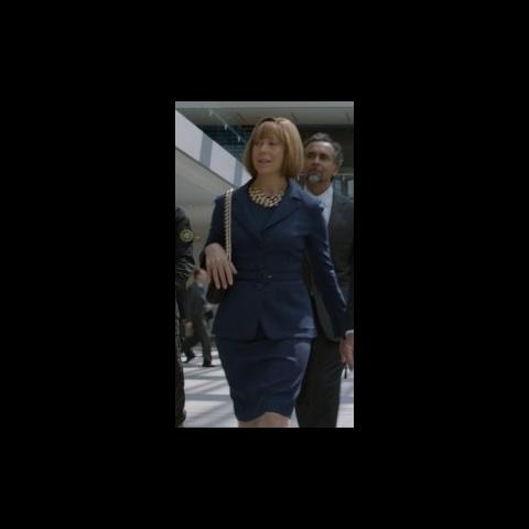 Natasha Romanoff impersonating Hawley.