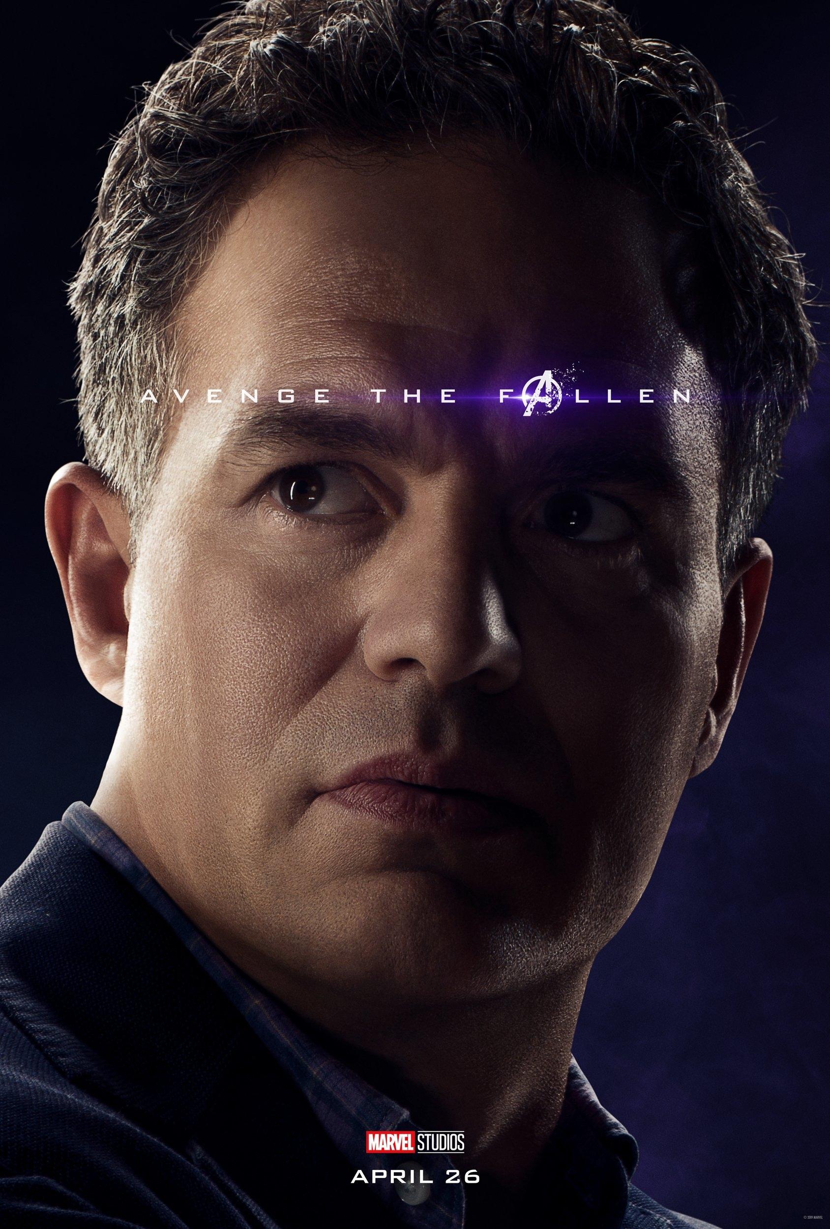 Image result for marvel character poster endgame bruce banner