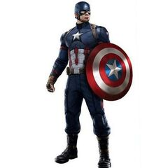 Slightly modified uniform for <i>Captain America: Civil War</i>.