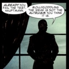 The Red Skull talks to <a href=