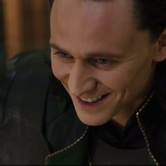 Loki's evil laugh.