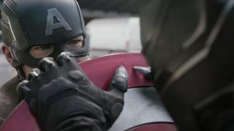 Captain America Civil War TV Spot 5 HD Black Panther vs Cap