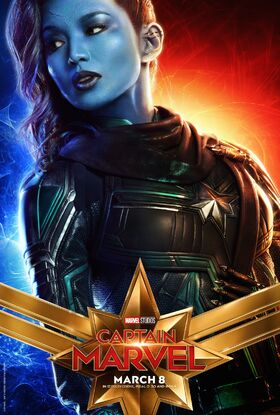 Captain Marvel Character Poster 04
