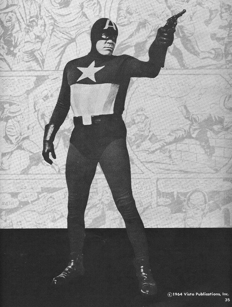 Risultati immagini per capitan america tv 1944