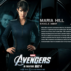 Maria Hill Bio Wallpaper.