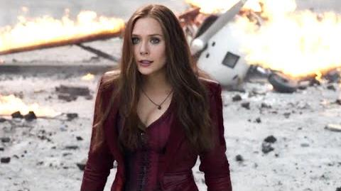 "Captain America Civil War - Official ""Wanda Maximoff Scarlet Witch"" Featurette 4 HD"