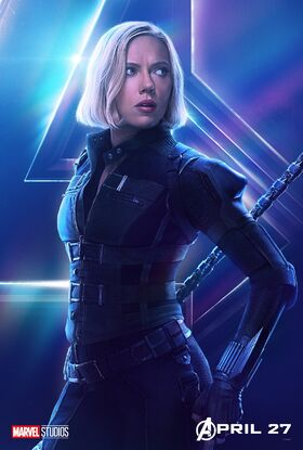 Natasha Widow InfinityWar poster
