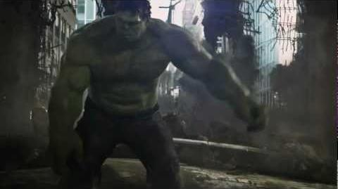 The Avengers (2012) Hulk Punches Thor - True 1080p【HD】